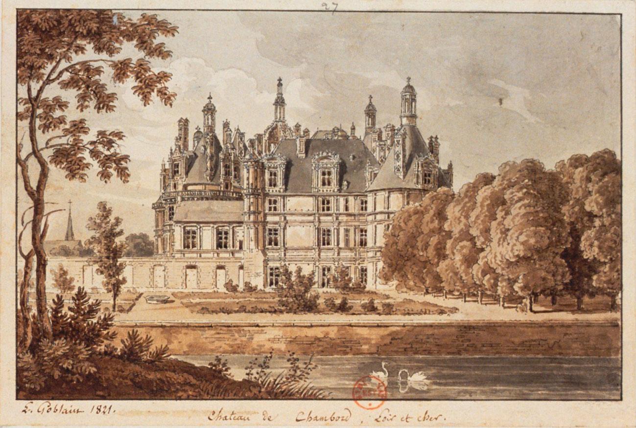 Concert éducatif - Château de Chambord L-Goblain © BNF